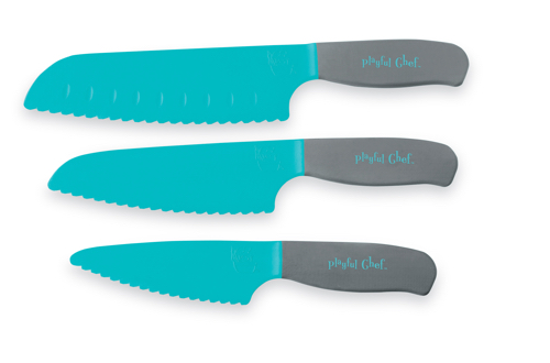Playful Chef knife set